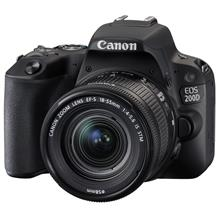 Canon EOS 200D Digital Camera with EF-S 18-55 mm f/4.5-5.6 IS STM Lens